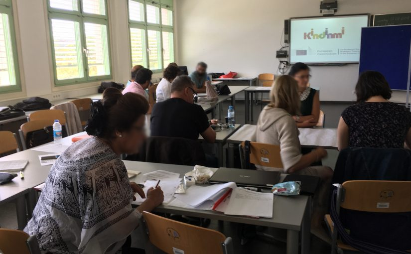 KINDINMI workshop with Austrian mother tongue teachers
