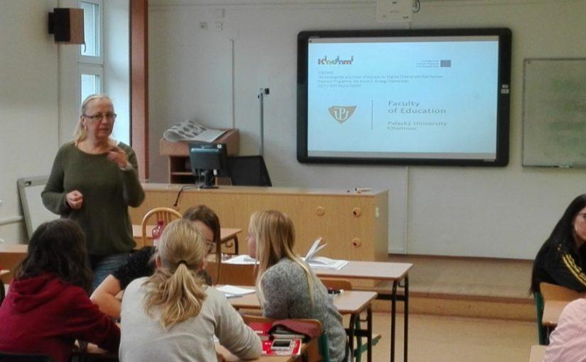 KINDINMI Workshop in Czech Republic at Olomouc University