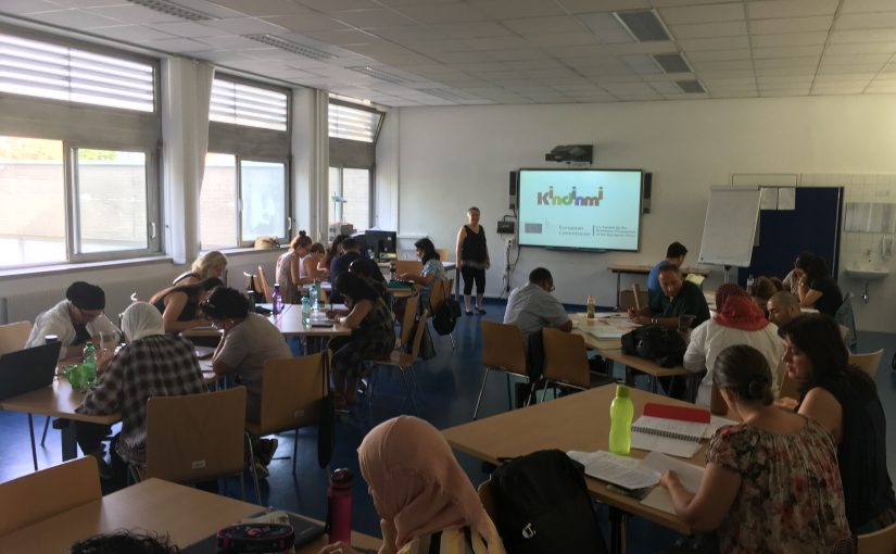 KINDINMI workshop for mother tongue teachers at PH Wien