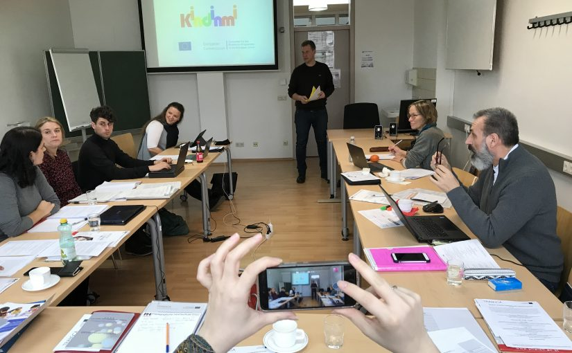 KINDINMI Curriculum presentation in Vienna (Austria)